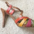 Nine West Light Brown/multi/leather Platforms Image 8