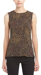 Tory Burch Top Abstract Leopard