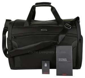 Tumi Black Duffle Travel Bag