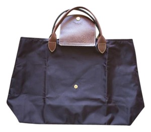 Longchamp Winter Fall Perfect Tote in Brown