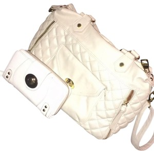 Steve Madden Satchel in cream