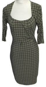 David Meister Geometric Slinky Circles Dress