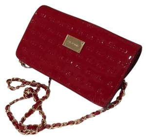 St. John Patent Leather Patent Leather Cross Body Bag