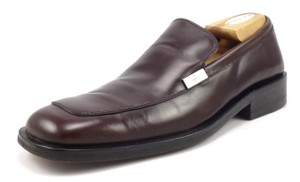 Gucci Men's Leather Slip On Loafers