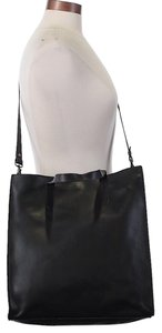 Eileen Fisher Lightweight Leather Tote in Black