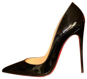 Christian Louboutin Red Soles Black Pumps