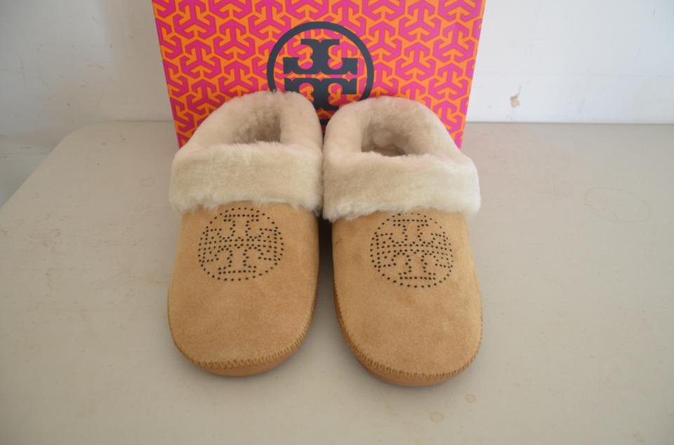 46a39b0fa99 Tory Burch Coley Slippers 34405 Royal Tan   natural Flats Image 5. 123456