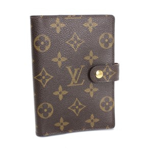 Louis Vuitton Louis Vuitton Monogram Agenda Cover Small