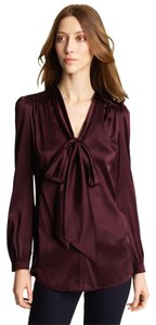 Burberry London Tory Burch Chanel Prada Top Burgundy