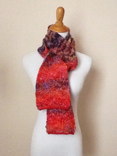 Other Colorful Thick Scarf Image 2