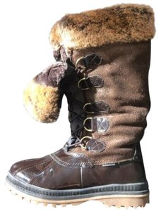 Khombu Brown Boots
