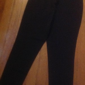 Donna Karan Straight Pants Brown