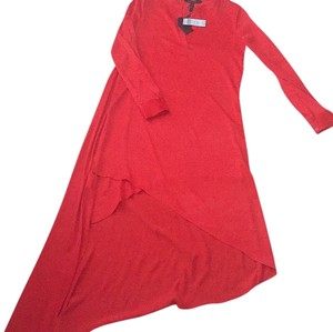 Red Maxi Dress by BCBGMAXAZRIA