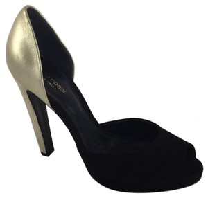 Sergio Rossi Black gold Pumps