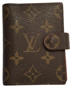 Louis Vuitton Louis Vuitton Mini Card Case/Agenda Cover R20007