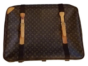 Louis Vuitton Sattelite 70 Monogram Luggage Vintage Brown Travel Bag