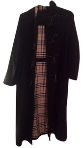Burberry Wool Cashmere Trench Trench Coat