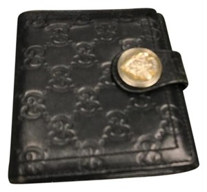 Gucci Gucci Hysteria Black Guccissima Leather Snap Wallet