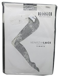 Wolford Wolford tights BRIDE Ecru Lace Venezia SMALL