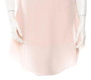See by Chloé Blush Pink Silk Flounce Skirt Pink Blush