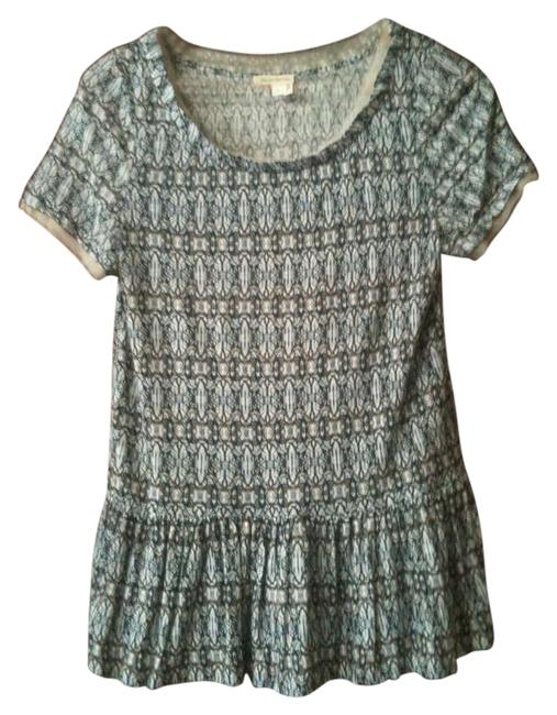 Preload https://item5.tradesy.com/images/anthropologie-peplum-printed-blouse-size-4-s-201904-0-0.jpg?width=400&height=650