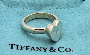 Tiffany & Co. Tiffany &Co. Paloma Picasso Modern Heart with Diamond Ring Size 5