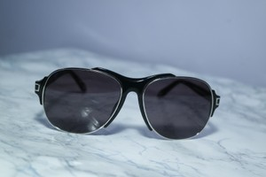 Givenchy NEW Givenchy Black Aviator Abstract SGV A14 Sunglasses