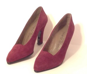 Charles Jourdan Vintage Suede Leather Pumps