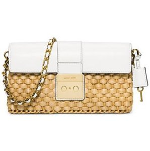 MICHAEL Michael Kors White Clutch