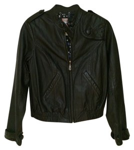 Roxy Leather Leather black Leather Jacket