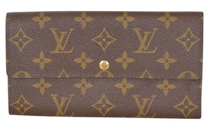 Louis Vuitton Vuitton Monogram Porte Monnaie Wallet