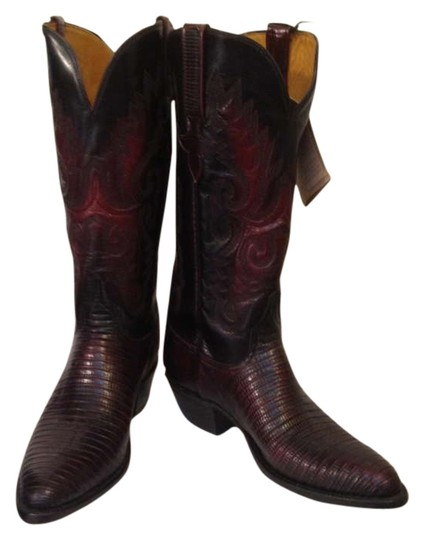 Preload https://item4.tradesy.com/images/lucchese-black-cherry-bootsbooties-size-us-75-201908-0-0.jpg?width=440&height=440