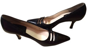 True Meaning 10 Leather Leather Soles Heels Womans Formal Quality Black Pumps