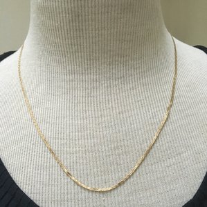 Real gold 14k yellow gold necklce 14k real gold necklace