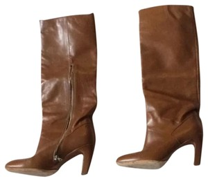 Dries van Noten Leather Style Caramel Boots