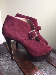 Michael Kors Maroon Pumps