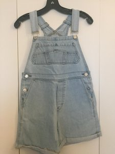 RES Denim Revolve Overalls Shorts Dress