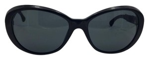 Chanel Black Tweed Chanel Sunglasses 5241 c.501/3F 56
