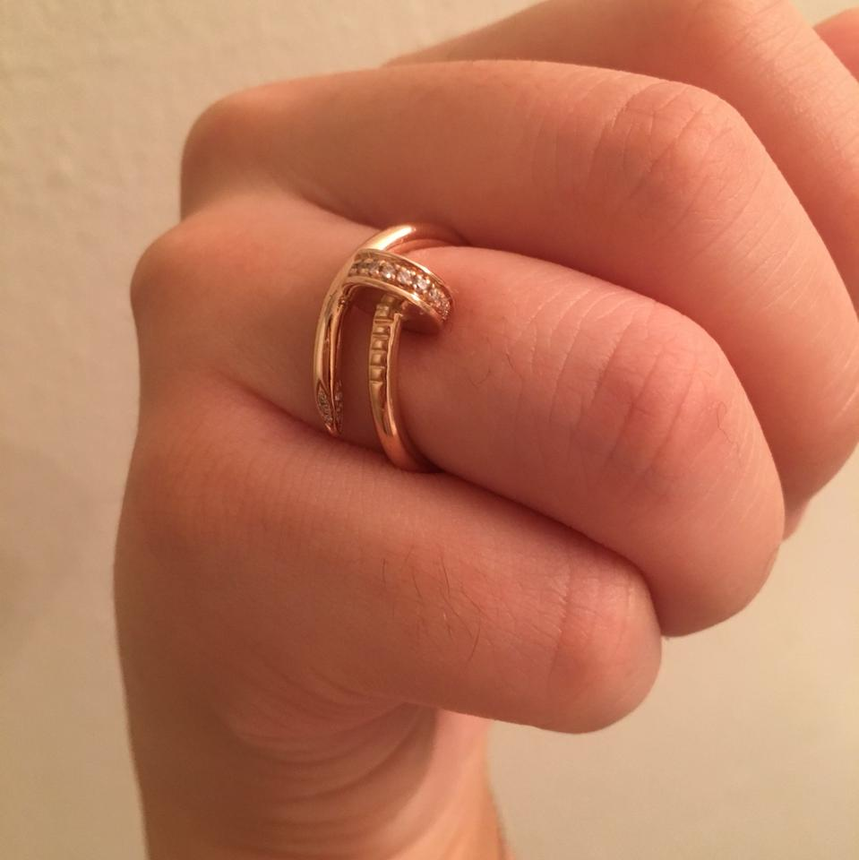 6f90b4ba27941 Rose Gold Juste Un Clou Ring