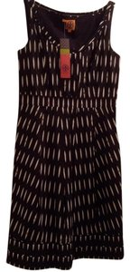 Tory Burch short dress Black,white,brown on Tradesy