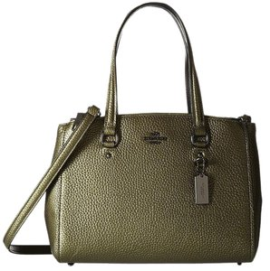 Coach Leather 36877 Satchel Crossbody Shoulder Bag
