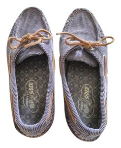 Sperry Denim Blue Flats