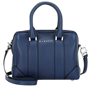 Givenchy Blue Lucrezia Mini Satchel in Navy