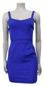 Sparkle & Fade Urban Outfitters Cutout Bustier Dress