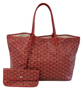 Goyard Celberity Favorite Tote in Red