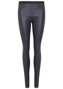 Helmut Lang Leather Leggings Pants