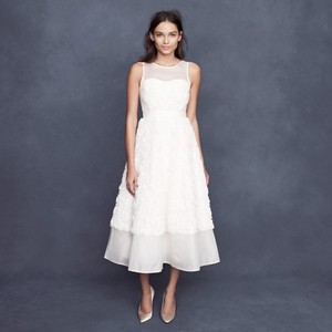 J.Crew Rosebloom Tea-length Wedding Dress