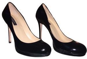 Ann Taylor Black patent leather Platforms