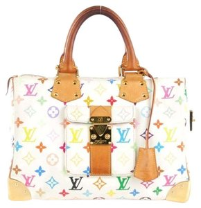 Louis Vuitton Gift Ideas Speedy 30 Satchel in Multicolor