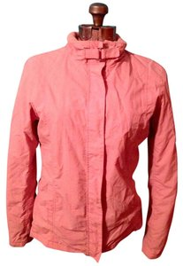 Hang Ten Snaps Buckle Zipper Polyester Pink Jacket